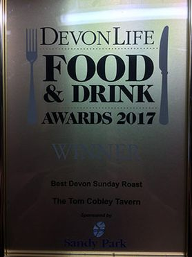 Devon Life Food and Drinks Awards